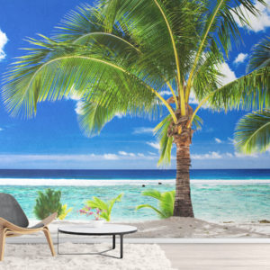 Fototapet Palmier pe Plaja Tropicala