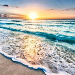 Fototapet Rasarit pe Plaja