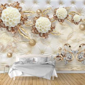 Fototapet 3D Decoratiuni Moderne Dormitor