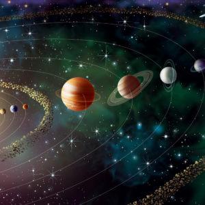 Fototapet Sistemul Solar