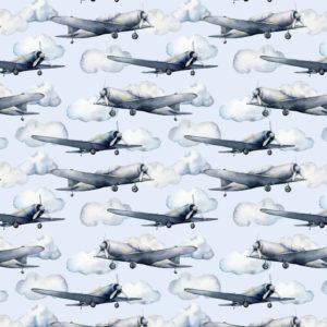 Fototapet cu avioane pentru copii