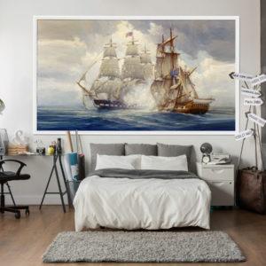 Fototapet Pictura Corabii in Ocean