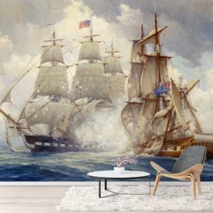 Tapet Pictura Corabie in Ocean